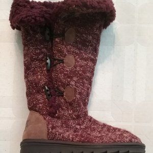 Muk Luks Women's Felicity Tall Boots  SZ. 7